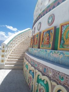 Perfect structure, Shanti Stupa, Leh
