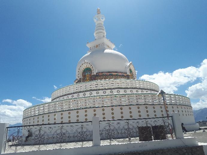Shanti Stupa, Leh Ladakh