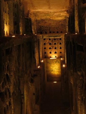 Columbarium Cave. Beit Guvrin National Park