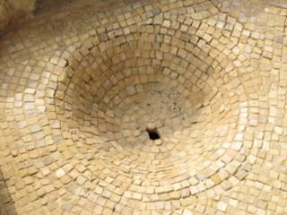 Mosaic drain. Good Samaritan grounds