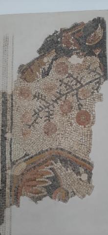 Pomegranets mosaic. Good Samritan Museum