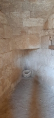 The cold room at bathhouse, Herodium National Park