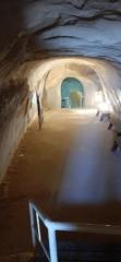 Underground tunnel, Herodium National Park