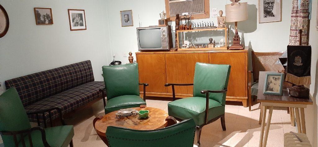 Ben Gurion Museum Sde Boker - the living room