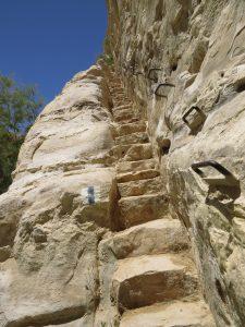 The 120 steps. Ein Avdat