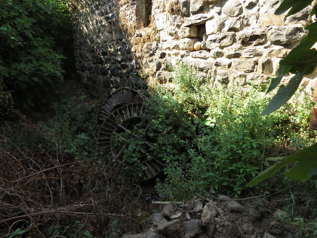 Remnants of flour mill. Tel Dan