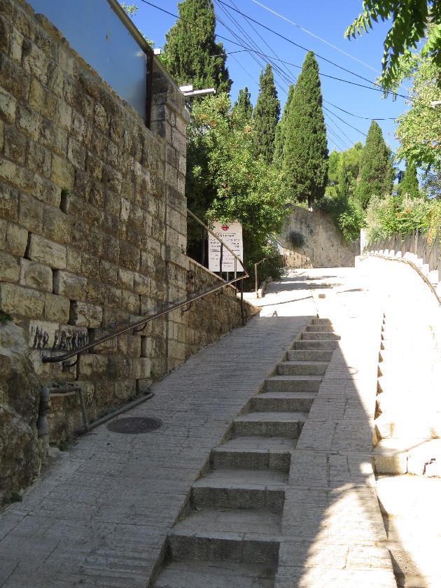 Stairs to Visitation Church, Ein Kerem